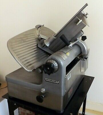 Hobart 1712 Automatic/Manual Commercial Deli Meat Slicer