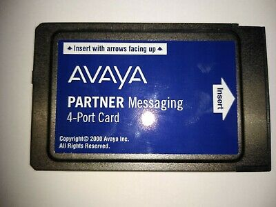 Avaya Partner Messaging 4-Port Card