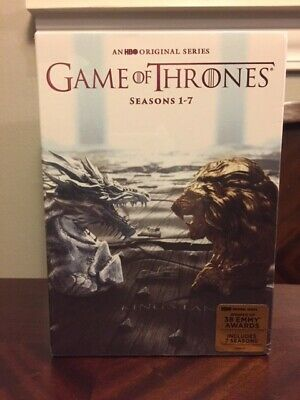 Game of Thrones DVD Box Set Seasons 1-7 Brand New Sealed
