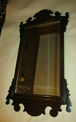 Vintage Ethan Allen Georgian Court Cherry  finish # 225 Wall Mirror made in usa