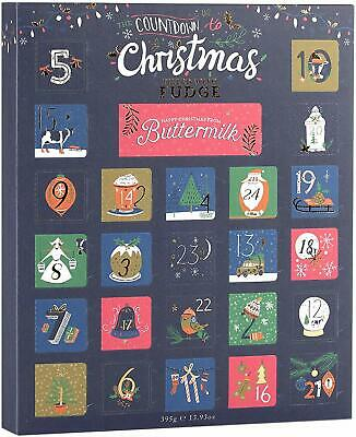 Buttermilk Fudge Christmas Advent Calendar - Gluten Free - Suitable for Vegetari