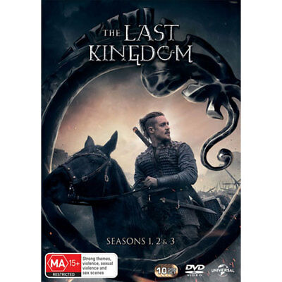 The Last Kingdom: Seasons 1, 2 & 3 DVD NEW (Region 4 Australia)