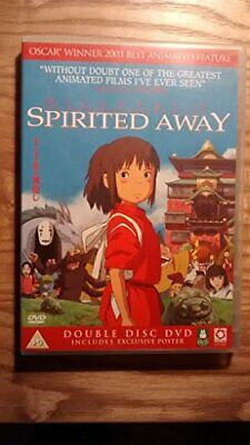 Spirited Away - 2 Disc Edition with Poster - DVD  BJVG The Cheap Fast Free Post