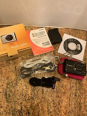 Canon PowerShot A2200 14.1MP Digital Camera 4x Optical Zoom and canon