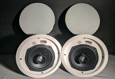 "JBL Control 26CT 6.5"" Ceiling Loudspeaker, 2 Speakers (1 Pair), Speaker Only"