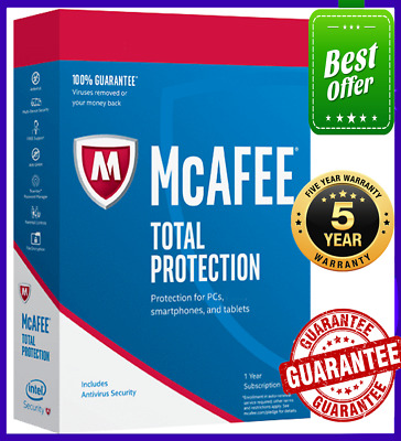 McAfee Total Protection 2020 2️⃣ Device win & Android5️⃣ Year Antivirus 🔽