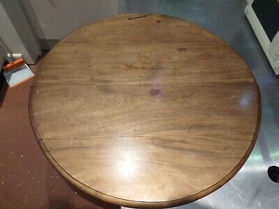 SPARE folding round circular VICTORIAN oval TABLE TOP tabletop MAHOGANY ANTIQUE