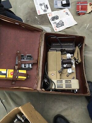 Collectable Rare Vintage Super 8mm P.11 Eumig Projector