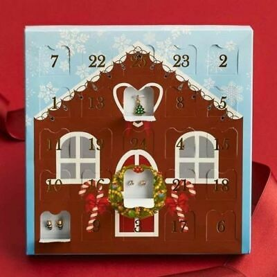 New Boxed Avon Nordic Jewellery Advent Calendar Bargain £8.99