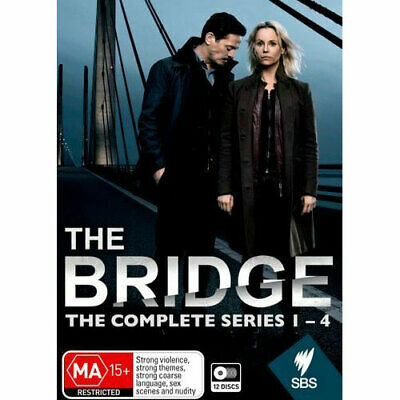 The Bridge: Series 1 - 4 DVD NEW (Region 4 Australia)