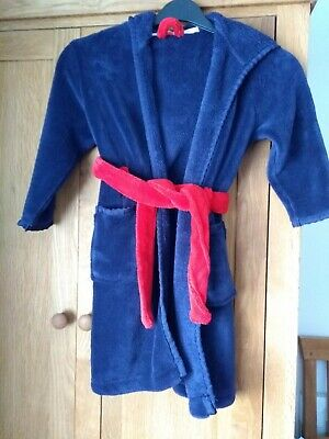 John Lewis Fleece Dressing Gown Robe Age 5. Excellent Condition.