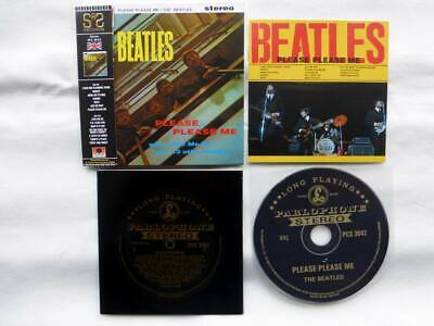 The Beatles ‎CD 1963 Please Please Me ! Rare Mini LP CD with OBI and book !!