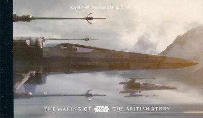 GB 2015 DY15 DB5(67) Star Wars Prestige Booklet Cat £24 (LP4)