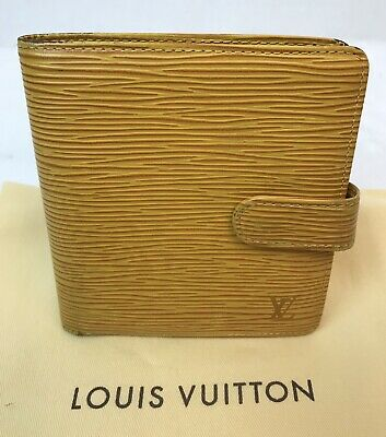 Auth LOUIS VUITTON EPI LEATHER PORTE BILLETS BIFOLD WALLET ~US SELLER