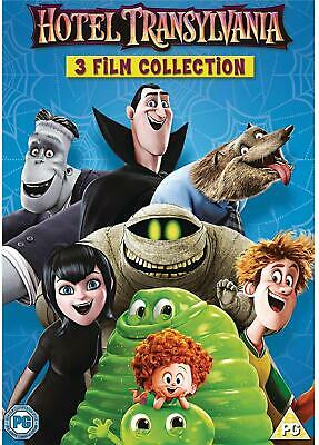 Hotel Transylvania DVD 1-3 Film Collection Rated Parental Guidance Multicoloured