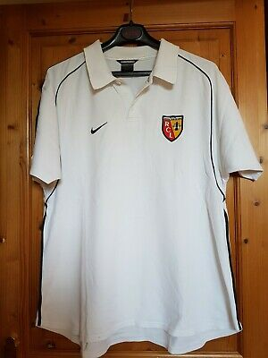 Maillot Nike Col Pique Du Racing Club De Lens
