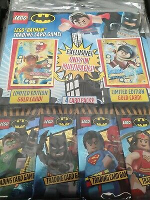 Lego Batman Trading Card Game Multi Pack Limited Edition Gold Trading Cards