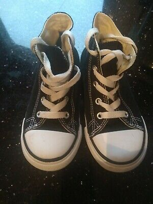Kids Converse Chuck Taylor All Star Canvas High Tops Classic Walking trainers 10