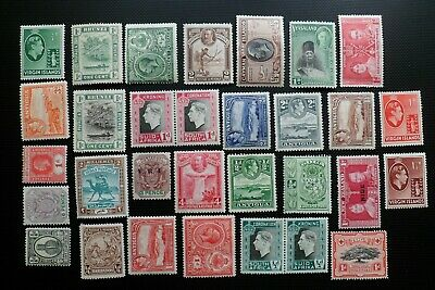 British Commonwealth Pre Qeii Mint Collection