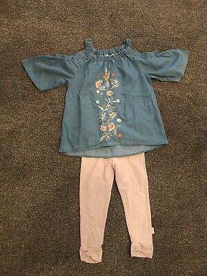 Girls River Island Mini Outfit Size 3-4 Years
