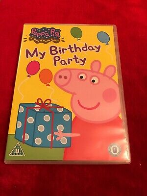 Peppa Pig: My Birthday Party and Other Stories DVD (2006) Neville Astley cert U