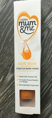 Cussons - Mum & Me - New Mum - Stretch Mark Fader - New Baby- New - Boots