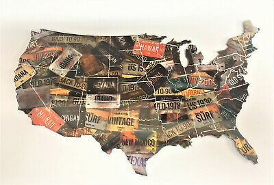 License Plate Map Of The U.s.
