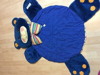 Baby Rug Vintage Ruggie Bear By Amway Washable VGC