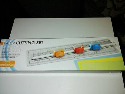 Boxed Precision Paper Cutting Set..perfect For Wavy,Straight & Perforation Cuts