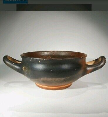 Attic Greek Black Glazed Kylix - Ancient Art & Antiquities