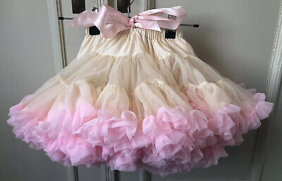 ANGELS FACE Cream And Pink Tutu Skirt Petite Age 1-3 Years