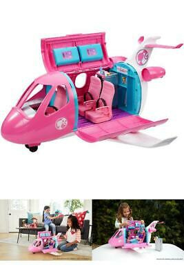Barbie Dream Plane Playset Toy For Girls 3 4 5 6 Pretend Play with Accessories