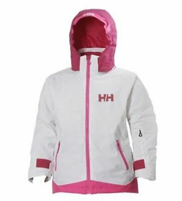 Girls' Helly Hansen Louise Ski Jacket - White  - Used Once - JUST £69.00