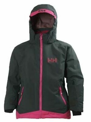 Girls' Helly Hansen Louise Ski Jacket - Rock Grey  - Used Once - JUST £69.00