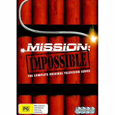Mission: Impossible (1966) - The Complete Original TV Series (Seasons 1 - 7) DVD