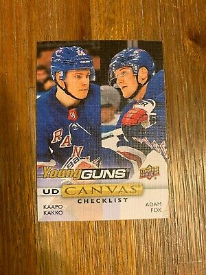 2019-20 UPPER DECK SERIES ONE CANVAS YOUNG GUNs U-PICK FROM LIST SP FREE SHIP US