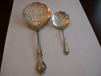 2 Gorgeous Sterling Servers In English Gadroon Pattern By Gorham C 1939