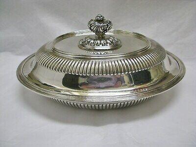 Tiffany & Co Sterling Silver Covered Vegetable Serving Dish 1883 No Mono 39.3 TO