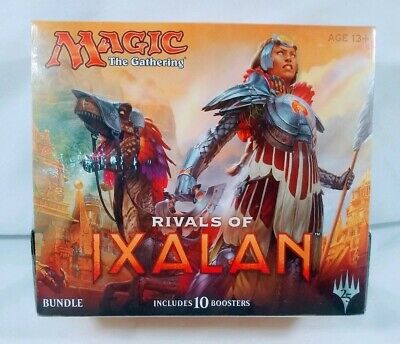 Magic the Gathering MTG Rivals of Ixalan Sealed Bundle Fat Pack 10 Booster Packs