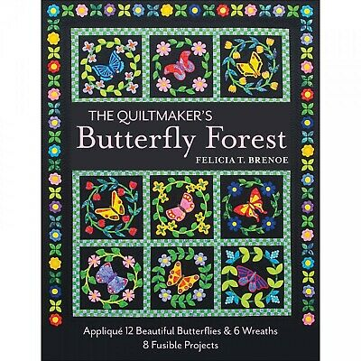 Quilt Book - Butterfly Forest - Applique - Stunning Quilts