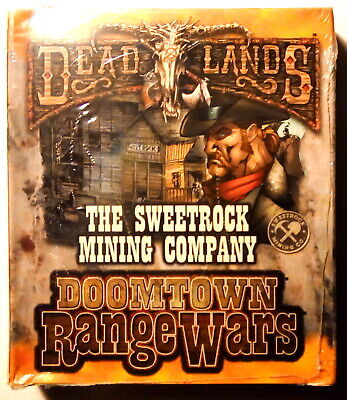Disk Wars Dead Lands Doomtown Range Wars THE SWEETROCK MINING COMPANY (Sealed)