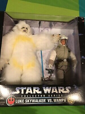 Star Wars Luke Skywalker Vs. Wampa 1997 Empire strikes back Hoth Kenner MIB Set