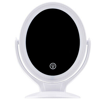 Magnifying Adjustable Charging LED Cosmetic Makeup Mirror 360 Degree Rotated