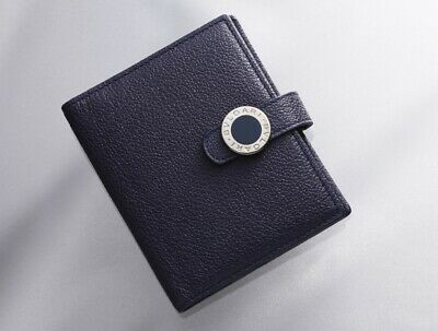 H7394M Authentic BVLGARI Colore Genuine Leather Agenda Notebook Cover Mini