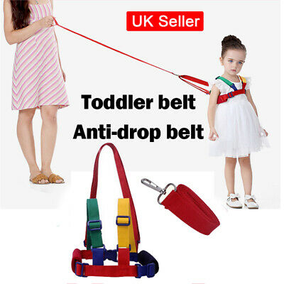 Baby Toddler Safety Harness Learning Walk Assistant Walking Reins Anti Lost UK