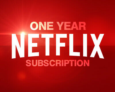 Netflix Gift And Warranty: 4 Screens / 4K UltraHD / 💥12 Month / Private 💥