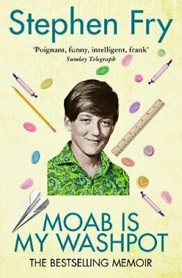 Moab Is My Washpot by Stephen Fry 9780099457046 | Brand New | Free UK Shipping