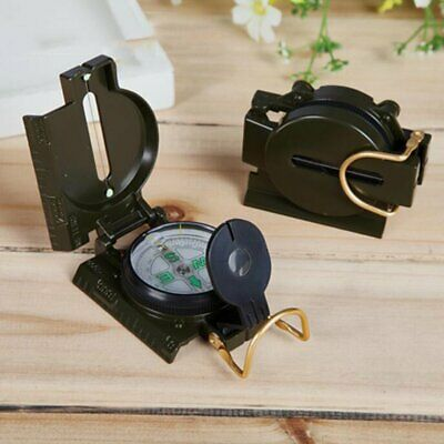 Military Style Oil Filled Metal Military Compass Camping Hiking Orienteering