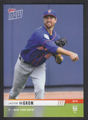 Topps Now Road To Opening Day 2019 - Jacob DeGrom - New York Mets PR 306