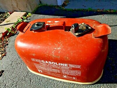 Tempo 6 Gallon Rectangle Metal Galvanized Empty Gas Can Container Cleveland OH